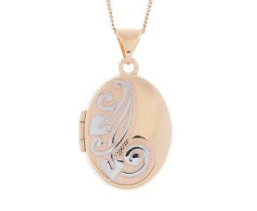 9ct Yellow Gold Locket