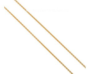 "Pre-owned 18ct Yellow Gold 16"" Spiga Chain"