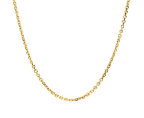 9ct Yellow Gold 1.46mm Close Link Filed Trace Chain