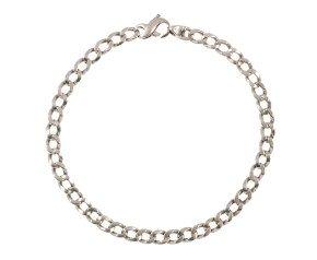 Pre-Worn Curb Chain Bracelet