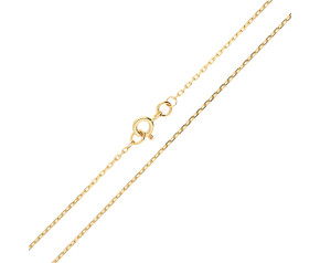 9ct Yellow Gold Filed 1.34mm Trace Chain