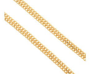 Pre-Worn 9ct Gold Figure Of Eight Curb Chain Necklace