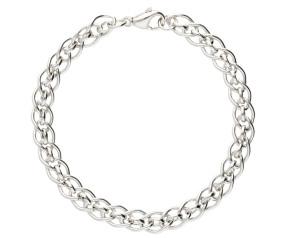 9ct White Gold Cascarine Bracelet