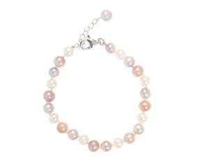 Freshwater Multi Coloured Pearl Bracelet