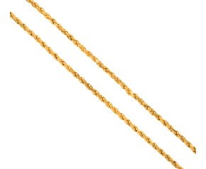 Pre-Worn Rope Chain Necklace