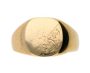 Pre-owned Men's Signet Ring