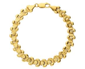Pre-Owned 18ct Yellow Gold Fancy Bracelet