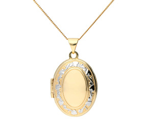 9ct Yellow Gold Family Locket