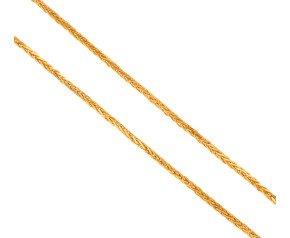 "Pre-Worn 24"" Spiga Chain Necklace"