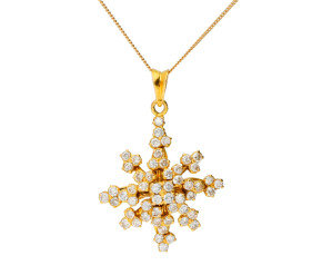 Vintage 1.50ct Diamond Spray pendant