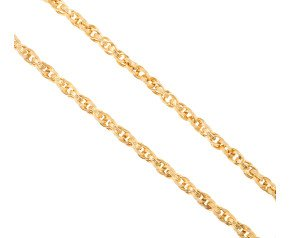 Men's Yellow Gold 5.6mm Prince of Wales Chain
