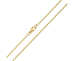9ct Yellow Gold 1.93mm Close Link Trace Chain