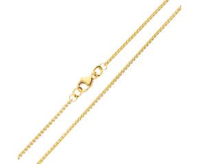 18ct Yellow Gold 1.30mm Spiga Chain