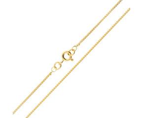 18ct Yellow Gold 1.08mm Spiga Chain