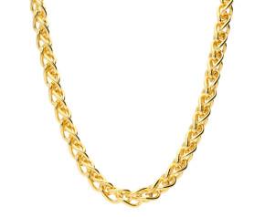 18ct Yellow Gold 4.20mm Spiga Chain