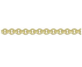 9ct Yellow Gold 4.39mm Belcher Chain