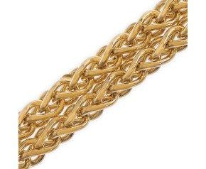 9ct Gold Spiga Chain