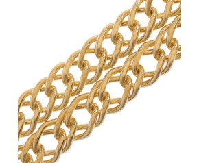 9ct Gold French Curb Chain