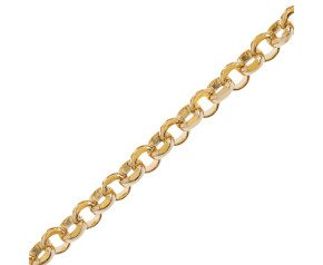 9ct Gold Baby Belcher Chain