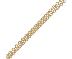 9ct Gold Tight Link Trace Chain