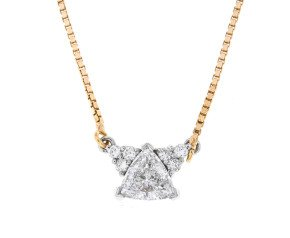 Pre-Owned 0.76ct Diamond Necklace