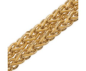18ct Gold Spiga Chain