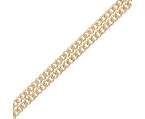 18ct Yellow Gold 0.97mm Curb Chain