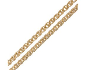 18ct Yellow Gold Spiga Chain