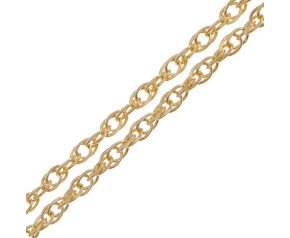 18ct Yellow Gold Prince of Wales Rope Chain