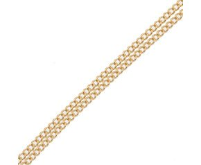 18ct Yellow Gold Filed Curb Chain