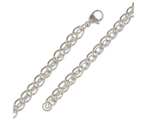9ct White Gold Cascarine Bracelet
