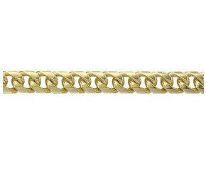 9ct Gold Classic Curb Chain Bracelet