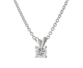Classic Collection Platinum 0.50ct Diamond Solitaire Pendant