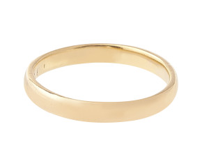 22ct Gold Court 4.00mm Vintage Wedding Band