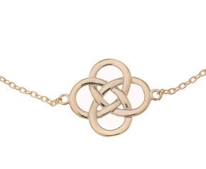 9ct Gold Celtic Motif Design Bracelet