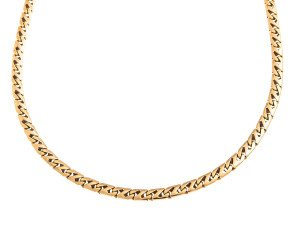 Pre- Owned 18ct Gold Fancy Chain Necklace
