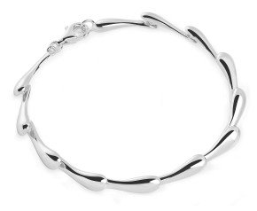 Sterling Silver Continual Drip Bracelet