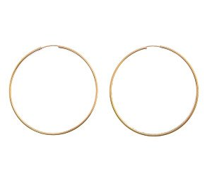 Pre-Owned Large Hoop Earrings
