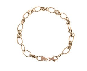 Pre-Owned Fancy Link Bracelet