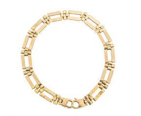 Pre-Owned 9ct Gold Fancy Bracelet