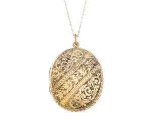 Antique Victorian 15ct Yellow Gold Locket