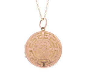 Antique 15ct yellow Gold Locket