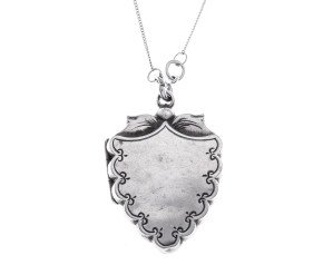 Antique Victorian Silver Locket
