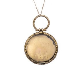 Antique Victorian Memorial Locket