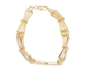 9ct Yellow Gold Fancy Bracelet