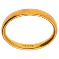Vintage 22ct Gold Court 3.00mm Wedding Band