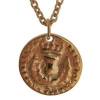 18ct Gold Vermeil Medium Bawbee Coin Necklace