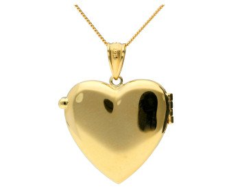 9ct Gold Heart Locket