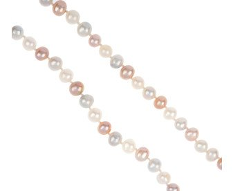 Freshwater Multi Coloured Pearl Necklace