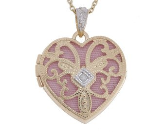 9ct Gold Heart Locket